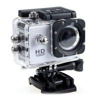 ingrosso videocamera di azione a pieno hd-SJ4000 1080P Helmet Sport DVR DV Video Car Cam Full HD DV Azione subacquea impermeabile 30M Videocamera Camcorder Multicolor 2018