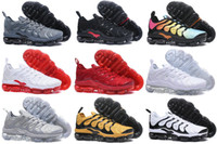 Wholesale cream color boots - Drop Shipping Famous TN Plus Multi-Color Mens Athletic Sneakers Sports Running Shoes Size 40-45