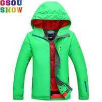 GSOU SNOW Ski Jacket Women Winter Waterproof Jacket Ladies Professional Skiing  Snowboarding jackets Breathable Bright Color 2017 2e0b48eea