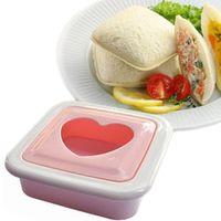 ingrosso strumenti bento-1 PC New Pocket Sandwich Stampo Maker FAI DA TE Bento Balls Toast Baby Cake Macchina per il pane Strumento di cottura Accessori per la cucina Accessori