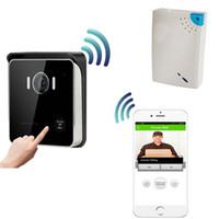 Wholesale Outdoor Intercom Camera - Wireless Smart WIFI Video Doorbell Intercom Door Phone Bell Chime HD 720P Camera Night Vision Motion Sensor Alarm Unlock