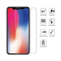 Wholesale Iphone Glossy Case - For iphone X  10 Tempered Glass iphone 8 Plus Screen Protector iphone 6 7Plus Film Premium quality For Galaxy Prime With Retail Package case