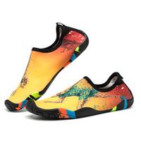 traje de buceo hombre al por mayor-Zapatos de buceo para agua Mujer Hombre Calcetines Zapatos de bota de buceo para buceo Calcetines de buceo antideslizantes Deportes acuáticos Calcetines de playa Natación Surf Zapatos de traje mojado