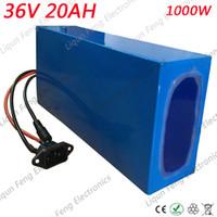 ionen-ladegerät 36v großhandel-36V 20AH 1000W Lithium-Batterie 36V 20AH Lithium-Ionen-Akku Hohe Qualität 18650 Power wiederaufladbare BMS mit 2A Ladegerät