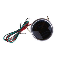 Wholesale Race Car Fuel - Wholesale-BYGD Universal 12V 2'' 52MM Auto Car Air Fuel Ratio Gauge Motor AFR Racing Meter Monitor White LED Red Pointer 12V Smoke Lens