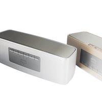logo mic toptan satış-Bluetooth Hoparlör Açık Handfree Mic Stereo Taşınabilir Hoparlörler Muti Fonksiyonları DHL Ücretsiz Nakliye Perakende Kutusunda Hiçbir Logo stok