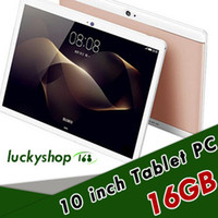 tablet pc ips al por mayor-20X de alta calidad Octa Core 10 pulgadas MTK6582 IPS pantalla táctil capacitiva dual sim 3G tablet teléfono PC Android Android 4 4GB