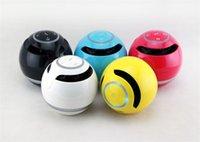 sihirli kutu hoparlörü toptan satış-YST-175 sihirli top kablosuz Bluetooth hoparlörler FM radyo mobil hoparlör Ses Box mini Subwoofer USB 3.5mm Fiş Desteği TF