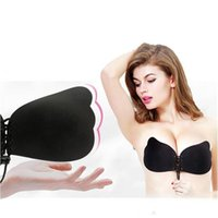 5db6d1d7dc 2018 Women Invisible Bra Nubra Butterfly Wing Invisible Bras Push-up  Seamless Strapless Backless Bra Self Adhesive Stick On Invisible Bra