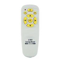 aprendizaje a distancia al por mayor-Top Deals 1PCS L181 Control remoto universal combinable MINI Control remoto de aprendizaje para TV / SAT / DVD / CBL / DVB-T / A