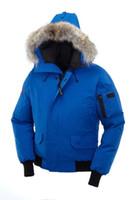 lüks ceketler erkekler toptan satış-2018 Yeni Sıcak Satış Büyük Kürk erkek PBI Chilliwack Aşağı Parka Kış Ceket Arctic Parka Üst Marka Lüks Satılık Toptan Ile Toptan Ücretsi ...