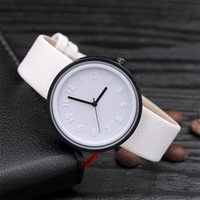 glass canvas Canada - Candy color Unisex Simple Number watches women japanese fashion luxury watch Quartz Canvas Belt Wrist Watch girls gift