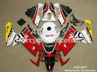Wholesale ACE Motorcycle Fairings For Aprilia RS125 Compression or Injection Bodywork White Red No