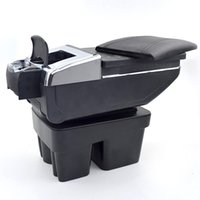 Wholesale vw stores - For VW Golf 7 armrest box car styling central Store content box cup holder interior car-styling decoration accessory 2015-2017