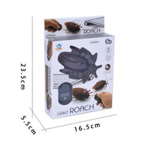 Wholesale Plastic Insects Toys - Redpoker Remote Control Toys Scary Creepy Insect Cockroach Toys Cockroaches Remote ControlRemote Control Toys Virtual Animal Toy