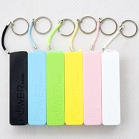 Wholesale Cheap Phone Chargers Wholesale - Cheap Portable 2600mAh Cell Phone Power Bank External Backup Battery Charger Emergency Power Chargers for all Mobile Phones