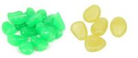 ingrosso giardini in pietra-100pcs / bag Ghiaia per il tuo giardino Yard Glow in the Dark Ciottoli Pietre per Walkway Wedding party Ornamenti luminosi giocattolo per bambini