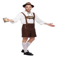 ropa oktoberfest al por mayor-Nuevo COS Alemán Oktoberfest Ropa Escenario para adultos Rendimiento Interpretación de fiestas Rendimiento Ropa para hombres y mujeres