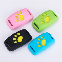 Wholesale dog collar fence for sale - Newest Waterproof MiNi Pet GSM GPS Tracker Locator Collar For Dog Cat Long Standby Geo Fence LBS Free APP Platform Tracking Device