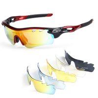 gafas de sol de skate al por mayor-Gafas de sol de ciclismo polarizadas Bicicleta de la bicicleta Gafas UV400 Deportes de conducción Patinaje de pesca Gafas de viaje Gafas