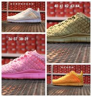 engel webt großhandel-2018 High-Q Free Inneva Woven Tech Sport Turnschuhe Günstige Frauen Und Männer Whiteout Triple Black Angel Schuhe Größe 36-44