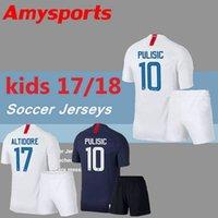 Wholesale Children United States - Kids kits 2018 2019 PULISIC Soccer Jersey 18 19 DEMPSEY BRADLEY ALTIDORE WOOD America youth home Fotball jerseys child United States Shirt