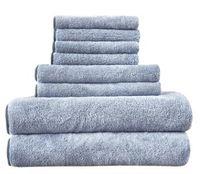 салфетки из микрофибры оптовых-Полотенце ванны установленное полотенце Microfiber твердое устанавливает быструю сухую ванную комнату полотенца стороны и ванны для взрослого