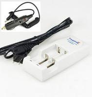 wiederaufladbare lithium-batterie cr123a großhandel-Original Trustfire Ladegerät 18650 Universelles Lithium-Ionen-Akku-Ladegerät für CR123A 16340 14500 10400 + Kfz-Ladegerät
