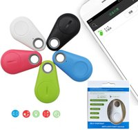 Wholesale iphone bluetooth remote shutter control for sale - Group buy Mini Smart iTag Bluetooth Anti lost Alarm GPS Tracker Locator Remote control shutter self portrait parking site search for iPhone Android