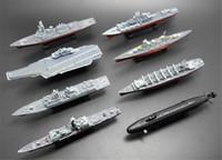 montieren sie schiffsmodelle großhandel-4D Assembled Schiffsmodell Liaoning Schlachtschiff Modern Class Schlachtschiff Flugzeugträger Modell Military Warship Modell Spielzeug
