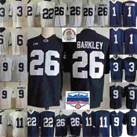 09c5691e5 NCAA Penn State Nittany Lions Saquon Barkley Trace McSorley Marcus Allen  Micah Parsons Akeel Lynch Joe Paterno College Football Jerseys