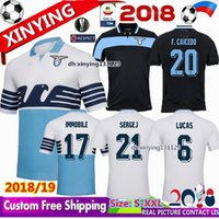 ba94c7bf6ea 2018 new Lazio home Soccer Jerseys 18 19 away F.ANDERSON LUCAS KISHNA BASTA  D JORD JEVIC KEITA IMMOBILE LULIC Football shirts uniform
