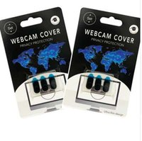 3 PCS set Webcam Cover Strong Adhensive for Mobile Phone Laptop Computer Camera Ultra-Thin Privacy Shutter Universal Webcam F1