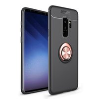 Wholesale abs car phone holder for sale - Group buy 2018 New Shockproff TPU PC phone cases For iphone plus case Car Holder Stand Magnetic Bracket phone case Finger Ring TPU Case