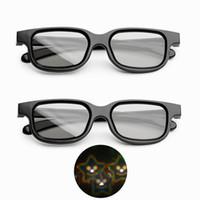 realidad virtual google 3d plastico carton al por mayor-1 piezas de gafas navideñas para vacaciones en 3D - Las especificaciones para vacaciones transforman las luces en una imagen mágica de sonrisas de estrellas, lentes de difracción de plástico