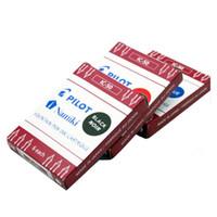 Wholesale Ic Set - 6 pcs set Authentic Pilot Namiki IC-50 Fountain Pen Ink Cartridge Blue Black Red Color