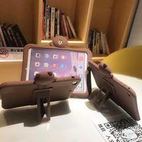 ipad air2 tablet оптовых-Для Apple ipad 6 Air2 силикагель ТПУ case для Apple iPad Air 2 обложка мягкая силиконовая задняя Tablet PC tablet + PEN