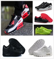 Wholesale Rubber Ice - 2018 New Arrival x Airs 90 Ice 10X AA7293-100 Sports Running Shoes for Women Men Casual Sneakers Size 36-46 Free Shipping