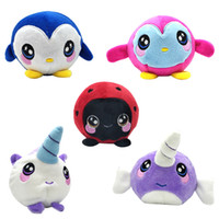 Wholesale plush penguin toys online - Squishamals CM Squishy Foamed Stuffed Animal Squeezamals Scented Squishies Penguin Unicorn Beatles Whale Adorable Plush Toys for Kids