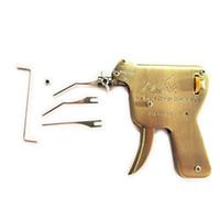 türpistole entriegeln großhandel-Entsperren Werkzeuge Universal Entriegelung Manuelle Lock Gun Türschloss Opener für Locksmith versorgung (KLOM UP)
