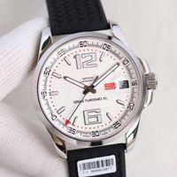 Wholesale White Rubber Swiss Watch - V6 New Top Mens Automatic Eta 2824 Watch Date Men Chronometer Rubber 168457 Swiss Watches Power Reserve Turismo Sapphire Gran XL Wristwatch