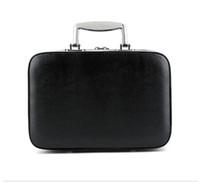 ingrosso sacchetto organizzatore modello-2018 Nuova custodia cosmetica in PU con manico Classic Logo modello Luxury Pattern C Makeup Organizer Cosmetic Bag