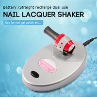 Wholesale sexy equipment - SEXY MIX Nail Lacquer Shaker Operated Nail Polish Paint Gel Bottle UV Gel Shaker Art Equipment Manicure Pedicure Machine