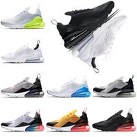 Wholesale berry tea - New 270 mens running shoes BE TRUE Teal TEA BERRY triple white black White Volt women sneaker trainers sports shoe size 36-45