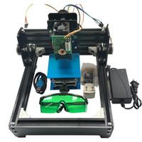 máquinas de marcação a laser venda por atacado-15000MW Máquina De Gravação Do Laser DIY, 15 W Laser, Aço Inoxidável Gravar Máquina De Marcação, Escultura Em Aço Máquina CNC Router, Brinquedos Avançados