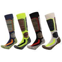 blue football socks Canada - Snowboard Skiing Sports Sock Winter Warm Sock Cotton Thermal Breathable Men Women Outdoor Football Ski Camping Cycling 30