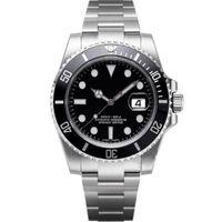 relógios automáticos de qualidade venda por atacado-Luxo Mens Relógios Relógios de Qualidade Moda Homens Pulseira De Aço Inoxidável Relógio Mecânico Automático 2813 Movimento Relógio De Pulso Safira