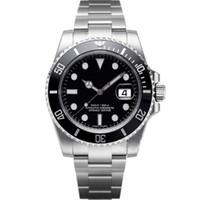 quality großhandel-Luxus herrenuhren qualität uhren mode männer edelstahlarmband automatische mechanische uhr 2813 bewegung armbanduhr saphir