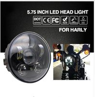 Wholesale kawasaki headlamp for sale - Group buy Headlight H4 quot W Led Chip High Low Beam W Led Headlamp Motorcycle Headlights for Harley Motor Bike V V