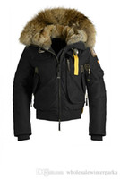 Wholesale Winter Hat Italy - 2017 Italy new Arrival women's Down parka Gobi Black Navy Gray jacket Winter Coat Parka Fur Sale With Free Shipping Outlet Copy 1by1